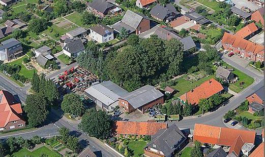 Schmidt Landmaschinen Steimke - Firmengelände von oben