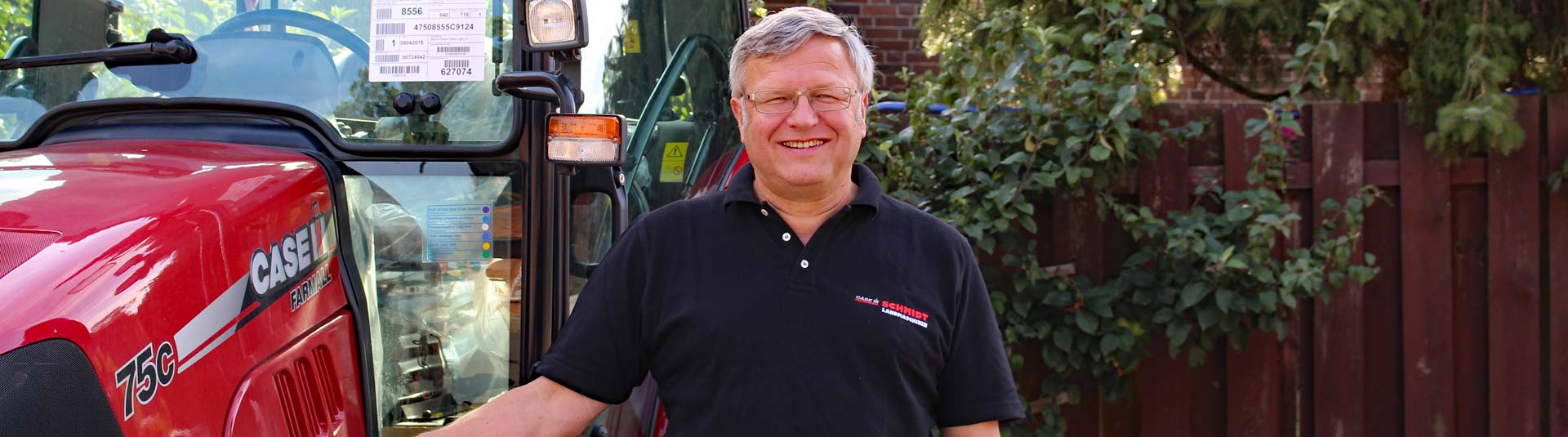 Schmidt Landmaschinen Steimke - Kontakt - Headerbild