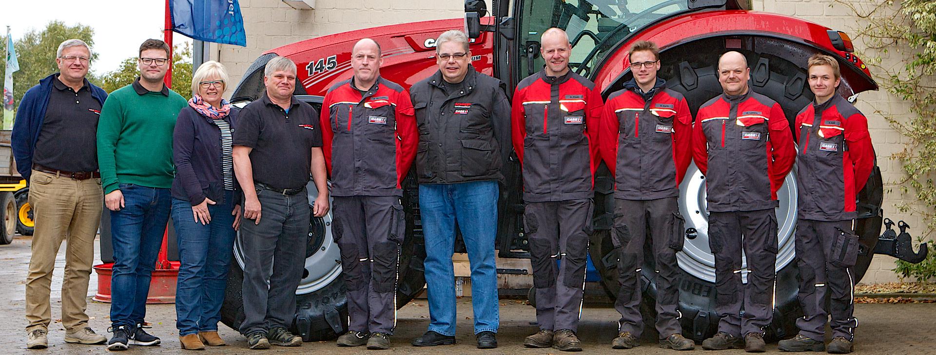 Schmidt Landmaschinen Steimke - das Team