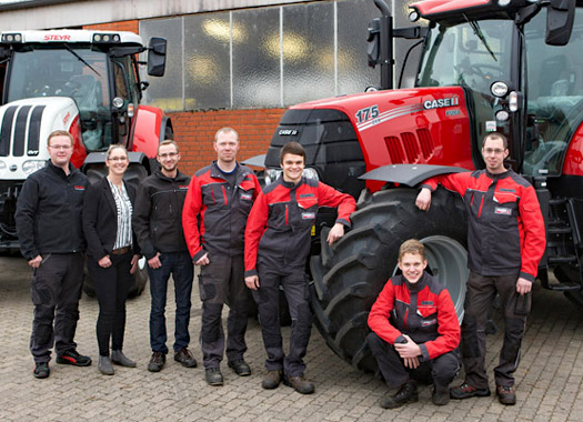 Schmidt Landmaschinen Hansen bei Uelzen - Team Hansen